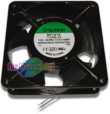 "Sunon 120mm x 38mm (4-3/4"" x 1-1/2"") 110-120 Volt AC Metal Frame BB Fan SP101A"