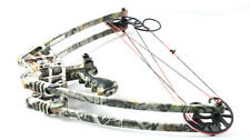 Camo hunting Bow Set, Camouflage Triangle Hunting Compound Bow and Arrow Set