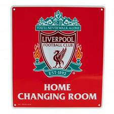 Official Liverpool FC  Home Changing Room  Metal Sign   FREE (UK)P+P