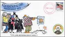 17-002, 2017, Groundhog Day, Local Postmark, Event Cover