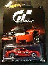 2016 Hot Wheels GRAN TURISMO Nissan Skyline GTR Super CUSTOM With Real Riders