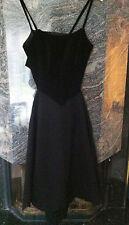 Designer -Kleid, Samtoberteil, Comme de Garcons by H & M, Gr.40