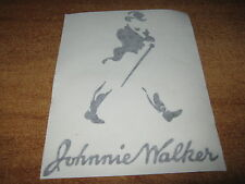 JOHNNIE WALKER - VINYL STICKER - IN BLACK - NEW
