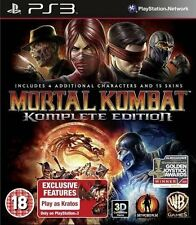 Mortal Kombat - Komplete Edition For PAL PS3 (New & Sealed)