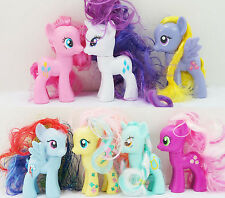 Lot of My Little Pony Friendship Figure Lily Blossom Cheerilee Lyra Heartstrings