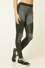 64% OFF!AUTH FOREVER 21 MARLED MOTO WORKOUT ACTIVE LEGGINGS X-SMALL BNEW $22.90