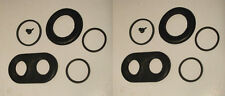 (Axle Set) JAGUAR E Type Series 2 FRONT BRAKE CALIPER REPAIR SEALS KITS 1968-71