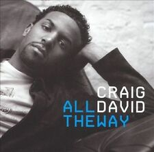 CRAIG DAVID : ALL THE WAY (SINGLE) **NEW CD**