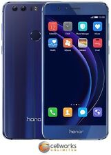 Huawei Honor 8 ( Factory Unlocked ) FRD‑L04 - 32GB - Sapphire Blue - 4G LTE