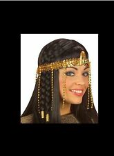 Le donne egiziane Perline HEADDRESS Cleopatra Costume capelli Decor-UK