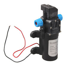 DC 12V 60W High Pressure Micro Diaphragm Water Pump Automatic Switch 5L/min