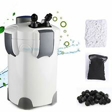 Aquarium Canister Filter 525 GPH 9W UV Sterilizer SUNSUN HW-304B 200G FREE MEDIA