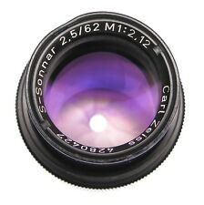 Carl Zeiss 62mm f2.5 S-Sonnar M 1:2.12    #4280427