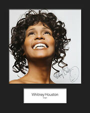 WHITNEY HOUSTON #2 10x8 SIGNED Mounted Photo Print - FREE DELIVERY