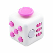 Fidget Cube Xmas Children Gift Toy Adults Stress Relief Magic Cubes 11 COLORS