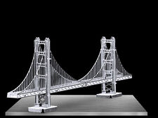 Fascinations Metal Earth 3D Laser Cut Model - Golden Gate Bridge
