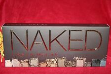 URBAN DECAY NAKED 1 EYESHADOW EYE SHADOW PALETTE BRUSH 12 SHADES BOXED AUTHENTIC