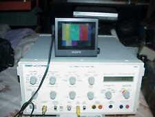 WORKING SENCORE VC-93 AUDIO/VIDEO TEST GENERATOR, GOOD WORKING