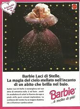 X7994 Barbie Luci di Stelle - Mattel - Pubblicità 1994 - Vintage advertising