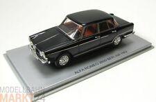 KESS Afla Romeo 2600 Berlina 1962 schwarz Chrom Modell im Maßstab 1:43 - OVP