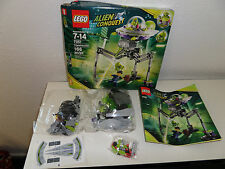 Lego 7051 Tripod Invader Alien Conquest 2011 Opened Box/New Sealed Packages Mini