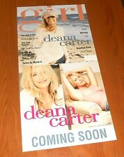 Deana Carter I'm Just a Cover Girl Poster 2-Sided Flats 2003 Promo 12x24 RARE