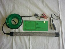12 Volt 600,, LED Green under water Fishing-Light-Boat,Pier,Dock