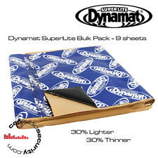 "DYNAMAT SUPERLITE  BULK KIT 9 SHEETS SOUND DEADENING 18"" x 32"" SHEETS"