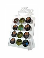 Holds 12 Coffee  Keurig K Cups tree pod holder CLEAR Acrylic dolce gusto