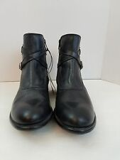 Mens Frye Benchcrafted Engineer Black Leather  Boots 87285 Mens Size 11 D