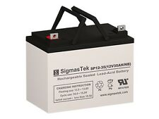 SigmasTek 12V 35AH Battery Compatible With Lithonia ELB1228