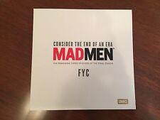 AMC Mad Men 2015 EMMY DVD FINAL 3 episodes MADMEN PROMO