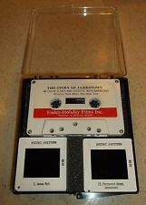 VINTAGE-HOLIDAY FILM COR-THE STORY OF JAMESTOWN-40 SLIDES & CASSETTE W/NARRATION