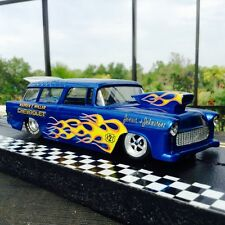 1/24 DRAG SLOT CAR '55 Chevy NOMAD New Build w/ Redone 501 Death Star Motor RTR