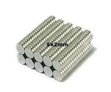 50x 6x2mm Earth Magnets Suit Scale Warhammer Model Figures Craft Role Play Games