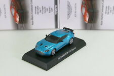Kyosho 1/64 Aston Martin V12 Zagato Blue Minicar Collection 5 Japan 2013