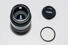 Minolta Maxxum AF Zoom 70-210mm f3.5-4.5 Lens Caps & Filter Dynax (#1299)