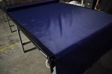 """420D Dark Navy 60"""" W Pack Cloth Fabric Outdoor Water Repellent Dwr By The Yard"""
