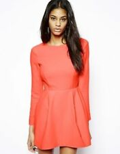 AQ AQ Beat Mini Dress with Low Back and Sleeve | UK 4 | RRP £165 | New with Tags