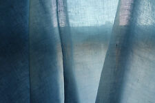 100% Irish Linen Voile Fabric Baird McNutt Soft Light Blue 145cm wide by meter