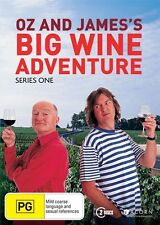 Oz and James's Big Wine Adventure: Series 1 DVD NEW