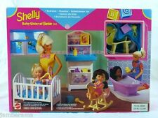 Barbie Shelly My Very Own Nursery Playset (1997  Rare Collectable)