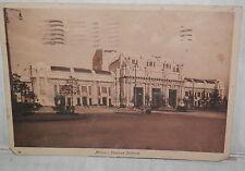 MILANO STAZIONE CENTRALE 1934 Vecchia foto cartolina fotografia Veduta Panorama