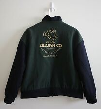 Avedis Zildjian Co Genuine Turkish Cymbals Varsity Snap Wool Jacket MEDIUM