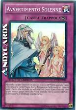 Avvertimento Solenne ☻ Super Rara ☻ CT08 IT015 ☻ YUGIOH ANDYCARDS