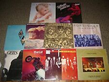 10-CLASSIC ROCK LP LOT-SKYNYRD-DEEP PURPLE-HALEN-BOC-NUGENT-GEILS-BAD COMP. LPs