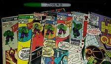 The Incredible Hulk #116 THRU 176 + EXTRA 1 SHOT! 7 COMICS! !C PHOTOS + DESCRIPT