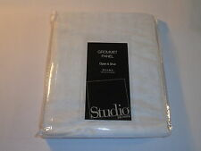 JC Penney Studio Grommet Curtain Panel - Open and Shut Cool White
