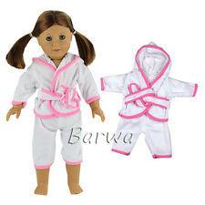 Lovely Sleeping Clothes Pajama Outfits Sets for 18'' American Girl Doll Gifts