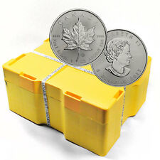 2017 Canada $5 1 oz. Silver Maple Leaf Sealed Monster Box of 500 Coins SKU44171